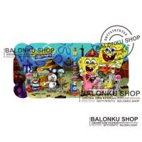 Kartu Undangan Ulang Tahun Sponge Bob / Undangan Songe Bob