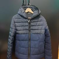 baju Jaket Winter ZARA MAN pria ukuran M minus 5-10 derajat