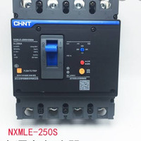 Chint Residual Currebt MCCB NXMLE-250S 4P 250A