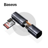 BASEUS MINI CABIN CARD READER USB TYPE C MICRO SD MMC TF CARD SDHC