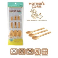 Mother's Corn Cutie Set Spoon Isi 3 Pcs / Set Sendok