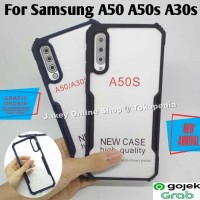 Case Samsung A50 A50s A30s FUSION HYBRID CLEAR ARMOR back cover casing