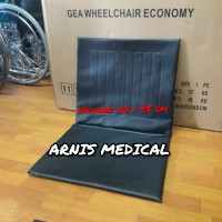 "jok kursi roda sepasang "" 40 × 45 cm "" sparepart kursi roda"