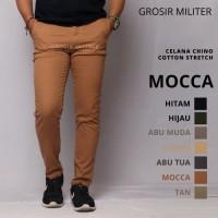 GM Celana Chinos Panjang Strech 7 Warna Premium