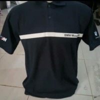 Kaos/Polo shirt/Tshirt Kaos Kerah Bmw Sport
