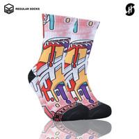 Kaos Kaki Olahraga Basket | Stayhoops Socks - Havoc