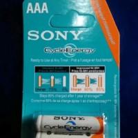Baterai sony AAA Rechargeable / baterai cas