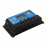 Charger Controller Solar Dual USB 10A 12V 24V - RBL-006A