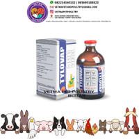 TYLOVAP - Tylosin 20% Injeksi 100 ml Vapco - obat hewan