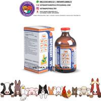 VAPCOGENT 10% isi 100ml - Gentamisin 10% Injeksi - obat hewan