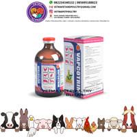 Vapcotrim 100 ml - obat hewan injeksi sulfadiazine & trimetropin ampuh