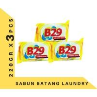 B29 Ivory Laundry Soap 220gr banded 3 Pcs Sabun Cuci Batang Kuning