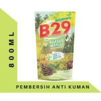 B29 Karbol Pouch 800ml Pembersih Kamar Mandi Harum Anti Kuman - Pine