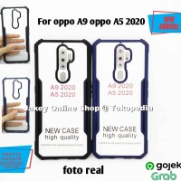 Case Oppo A9 2020 FUSION HYBRID CLEAR ARMOR back cover casing