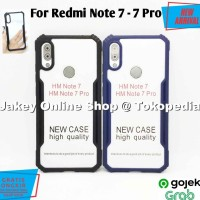 Case Redmi Note 7 7 Pro FUSION HYBRID CLEAR ARMOR back cover casing hp