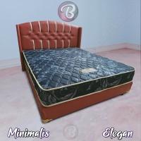 KASUR Full BUSA Red Blue Minimalis - Nyaman - Awet Tempat Tidur Anda