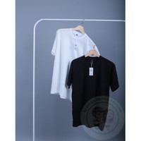 Kaos Polos Hitam Cotton Combed 30s Original