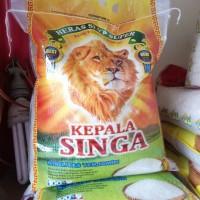 Beras KEPALA Singa 5kg super mantab harga nya Paling murah setokopedia