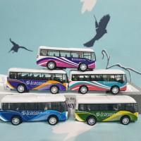 mainan diecast bus transjakarta 6 pcs busway miniatur bus transjakrta
