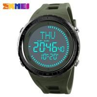 SKMEI Jam Tangan Digital Pria Kompas - 1342 - Army Green