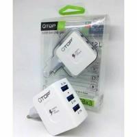 batok charger/ kepaala charger 3 slot