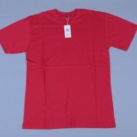 Kaos Polos Pria Original Merah Cabe