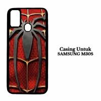 Casing Samsung M30s Hardcase Spiderman Logo Spiderman Logo