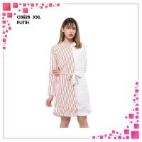 MIXFASH BL - 03628 Baju Tunik Atasan XXL Jumbo Murah Wanita Kekinian