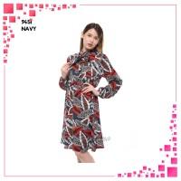 MIXFASH Monellina Fashion Baju Tunik Atasan Murah Wanita Kekinian 9451