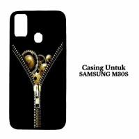 Casing Samsung M30s zipper Casing Hardcase Cover