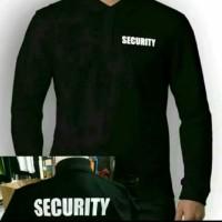 Kaos/Polo shirt/Tshirt Kerah Lengan Panjang Security