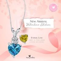 liontin heart shape - Ivana Jewellery