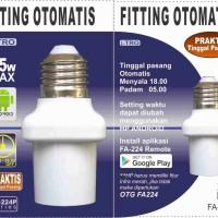 Fitting Lampu Otomatis berdasarkan waktu, Saklar Waktu, Saklar Timer