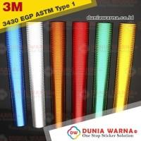 Sticker Rambu Jalan DISHUB TIPE 1 3M 3430 EGP PRISMATIC 120 CM Meteran