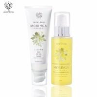 Paket Treatment Infus Wajah EVERSHINE / Facial Wash & Toner Moringa
