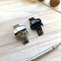 Buckle Butterfly Stainless Strap Jam Tangan Samsung Apple Watch IWO
