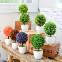 tanaman bunga plastik hias dekorasi rumah paling murah