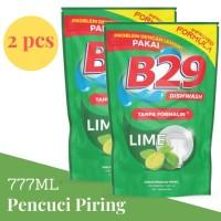 B29 Dishwash Pouch 800ml x2pcs - Lime / Pencuci Piring