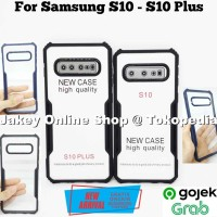 Case Samsung S10 S10 Plus FUSION HYBRID CLEAR ARMOR back cover casing