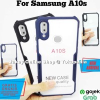 Case Samsung A10s FUSION HYBRID CLEAR ARMOR back cover casing