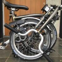 Jual Ready Sepeda Bekas Brompton Raw Lacquer M6L 2019