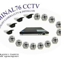 PAKET CCTV 32 CH LENSA 4MP FULL HD KOMPLIT TINGGAL PASANG