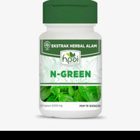 N Green HPAI kapsul spirulina plus