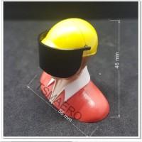 Boneka Pilot penerbang sipil 465627 yellow