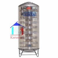 Tangki air Stainless Tirta T2000