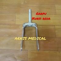 Garpu roda depan kursi roda,sparepart kursi roda