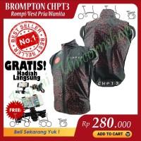 Rompi Brompton CHPT3 Vest Sepeda Lipat Chpt3 Bersepeda Olahraga