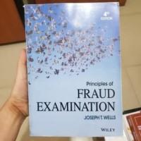 Principles of fraud examination 4th fourth edition joseph t wells