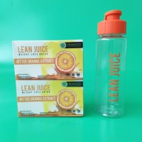 LEAN JUICE WEIGHT LOSS SLIMMING DRINK Minuman Diet WMP Flimty fibro