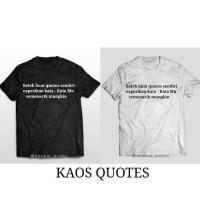 Jual Kaos Custom Kata Kata Boleh Bikin Sendiri Pria Dan Wanita